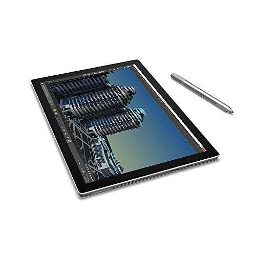 Microsoft Surface Pro 4 12.3″ Flagship High Performance Tablet (Intel Core i5, 4GB RAM, 128GB SSD, Bluetooth, Windows 10 Pro), Silver