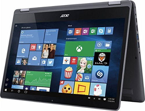2017 Newest Acer Aspire R 2-in-1 Convertible 15.6 Inch FHD IPS Touchscreen Laptop, Intel Core i5-7200U, 8GB DDR4 RAM, 1TB HDD, Backlit Keyboard, HDMI, Bluetooth, 802.11ac, Windows 10- Aluminum chassis
