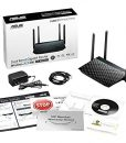 ASUS RT-ACRH13 Dual-Band 2×2 AC1300 Wifi 4-port Gigabit Router with USB 3.0