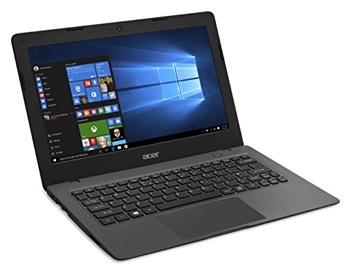Acer Aspire One Cloudbook, 11-Inch HD, 32GB, Windows 10, Gray (AO1-131-C9PM) includes Office 365 Personal - 1 year Discontinued by Manufacturer