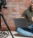 Acer Aspire 5 Slim Laptop, 15.6″ Full HD IPS Display, 10th Gen Intel Core i3-10110U, 4GB DDR4, 128GB PCIe NVMe SSD, Intel Wi-Fi 6 AX201 802.11ax, Backlit KB, Windows 10 in S Mode, A515-54-37U3